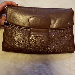 Handbags - Vintage Leather clutch from Europe